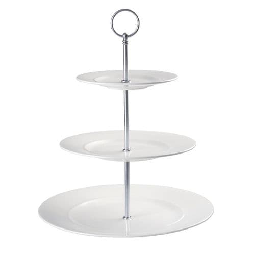 DL494 Churchill Alchemy 3 Tier Plate Tower (Pack of 2)